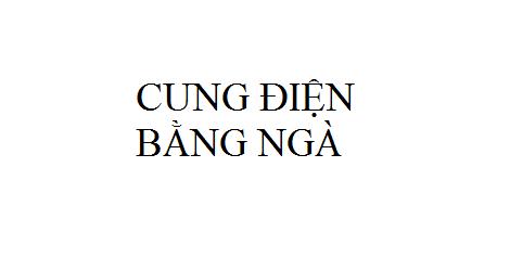 Nhạc: Cung Điện Bằng Ngà