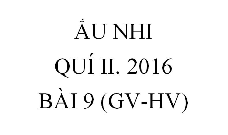 BÀI 9. ĐI BỘ TRÊN MẶT BIỂN ( GV-HV)