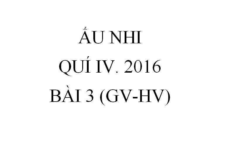 BÀI 3. CHÚA CHỮA LÀNH NGƯỜI BẠI (GV-HV)