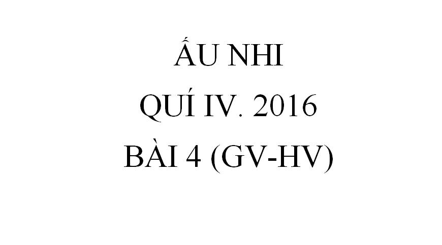 BÀI 4. NGƯỜI PHỤ NỮ BỊ CÒNG LƯNG (GV-HV)
