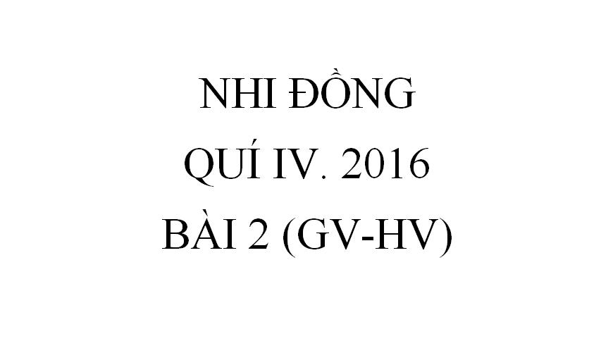 BÀI 2.TRANG G TRONG THỜI ĐẠI KINH THÁNH (GV-HV)