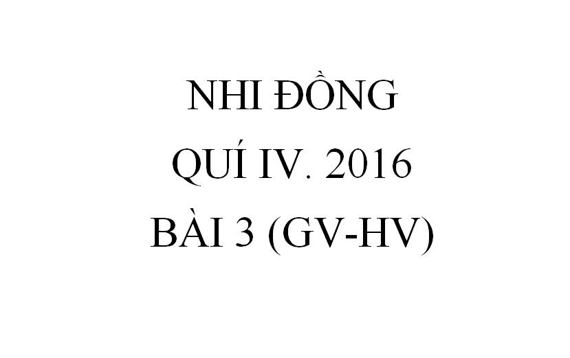 BÀI 3. THỨC ĂN TRONG THỜI ĐẠI KINH THÁNH (GV-HV)