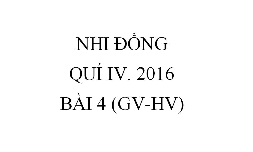BÀI 4. PHƯƠNG TIỆN GIAO THÔNG THỜI KINH THÁNH (GV-HV)