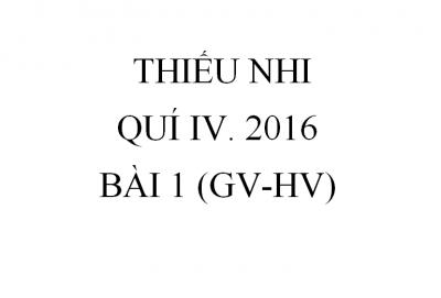 BÀI 1. NGƯỜI LÃNH ĐẠO PHẢI BIẾT VÂNG LỜI (GV-HV)